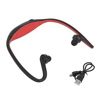 Auriculares Deportivos inalámbricos con Bluetooth, Manos Libres, estéreo, Color Rojo