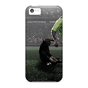 linJUN FENGipod touch 5 Case Slim [ultra Fit] The Famous Football Team Aston Villa Protective Case Cover