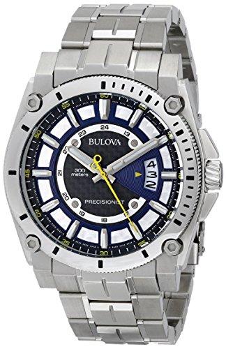 bulova-mens-96b131-precisionist-black-dial-steel-bracelet-watch