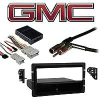 Fits GMC Denali 2003 Single DIN Aftermarket Harness Radio Install Dash Kit