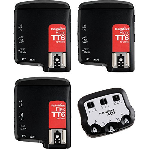 PocketWizard FlexTT6 Transceiver TTL Bonus Bundle for Canon by PocketWizard