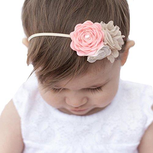 Miugle Girls Elastic Headbands Flowers product image