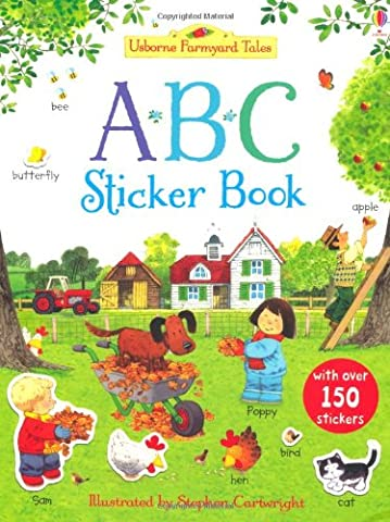 Farmyard Tales ABC Sticker (Abc Sticker Book)
