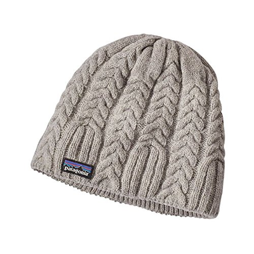 Patagonia Fleece Cap (Patagonia Women's Cable Beanie (One Size Fits All, Drifter Grey))