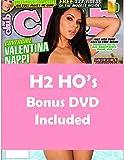Valentina Nappi Stormy Daniels Club Magazine 259 2018 with H2 HO's Bonus DVD