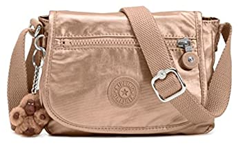 3fbd026c5ff19 Amazon.com   Kipling Sabian Crossbody Metallic Mini Bag (Copper Metallic)    Beauty