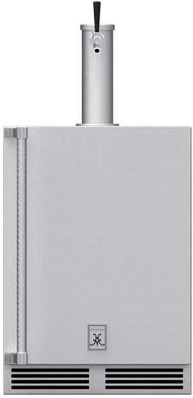 Hestan 24-Inch 5.2 Cu. Ft. Right Hinge Outdoor Rated Single Tap Beer Dispenser - GFDSR241