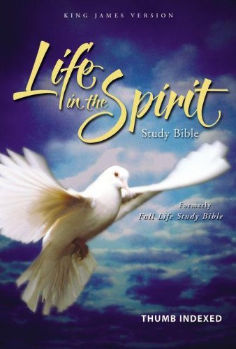 KJV Life in the Spirit Study Bible, Indexed (Thomas And Friends James In The Dark)