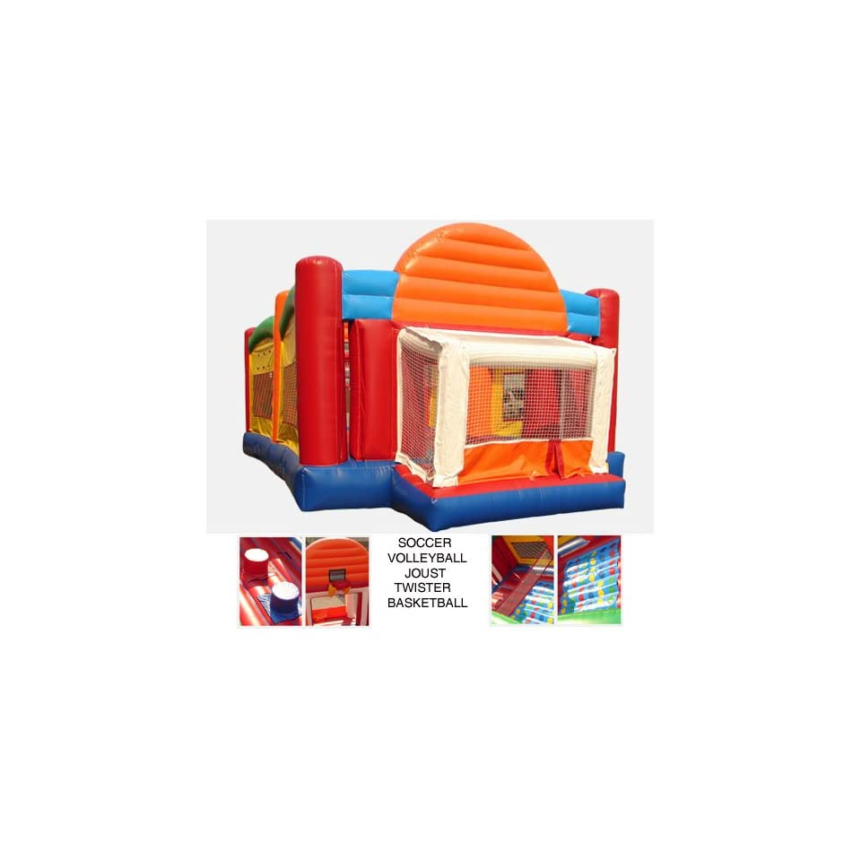 Kidwise Ultimate Sports Combo Bounce House (Commercial Grade)