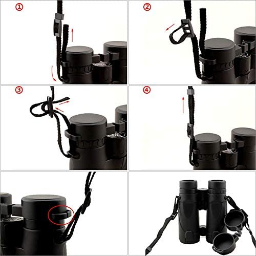 Quick Release Universal Fits All Bino Sling Strap Gosky Deluxe Binocular Harness Strap for Binocular DSLR Cameras Comfort