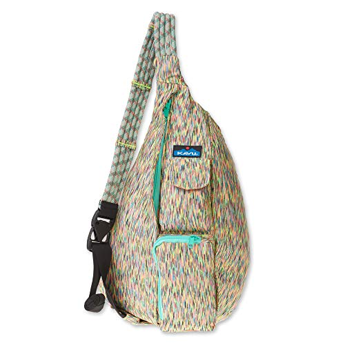 KAVU Ropercise Rope Sling Bag Gym Crossbody Shoulder Bag for Working Out - Flash Dance