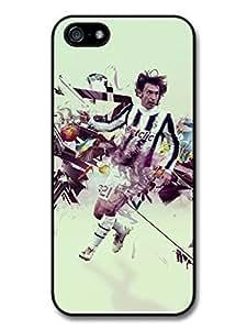 Accessories Andrea Pirlo Illustration Italian Football Case For Sam Sung Galaxy S5 Cover