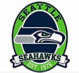 "Seattle Seahawks Wood Street Sign 11""x13"" NFL"