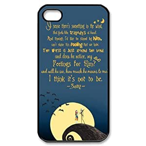 Disney the Nightmare Before Christmas Series iPhone 4 4S Hard Plastic Cover Case
