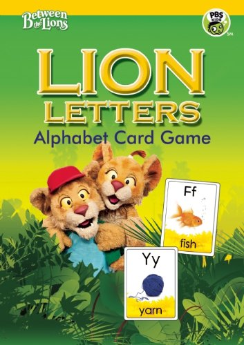 LION LETTERS Alphabet Card Game (Between the Lions)