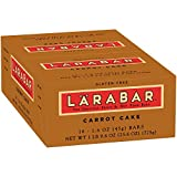 Larabar Carrot Cake Fruit & Nut Bars 16 ct Box (Pack of 4)