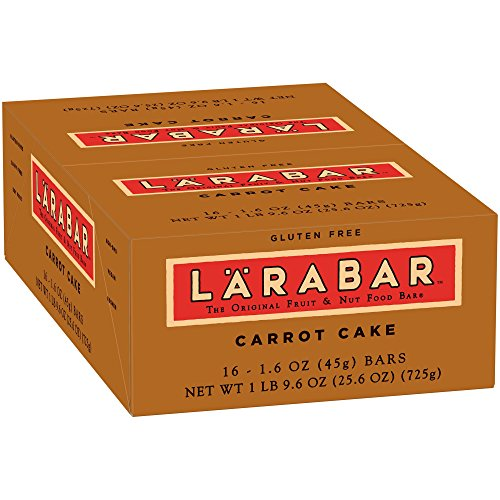 Larabar Carrot Cake Fruit & Nut Bars 16 ct Box (Pack of 5) by Larabar