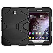 Galaxy Tab S2 8.0 Heavy Duty Case, SM-T710 Shock Proof With Kickstand Built-in Screen Full-Body Protective Case for Samsung Galaxy Tab S2 T710/T713/T715 8.0 inches