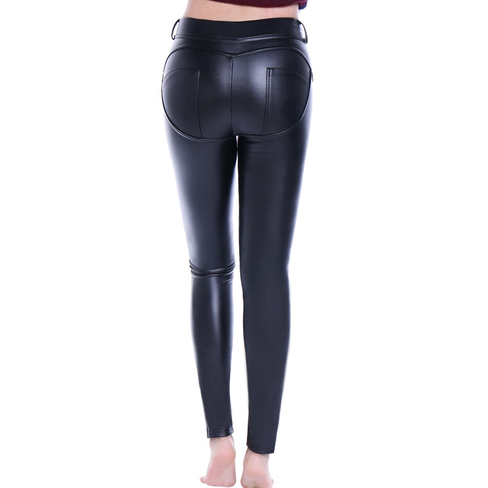 2e2b1cf555af9 Features: High waist, Wrinkle-resistant, Stretchy, Full-Length, Ankle- pleated and Comfortable Leggings Silhouette: Youthful, Soft, Sexy,  Figure-hugging, ...