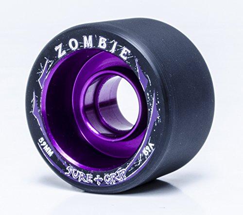 Sure-Grip Zombie Wheels Low 59mm 89a - Purple Hub