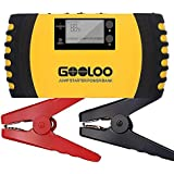 GOOLOO 1000A Peak 20800mAh SuperSafe Car Jump Starter (Up to 8.0L Gas, 6.0L Diesel Engine) 12V Auto Battery Booster Portable Phone Charger Power Pack Built-in LED Light and Smart Protection