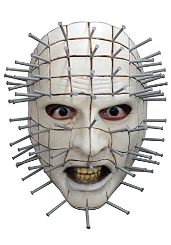 Adult Hellraiser Pinhead Face Mask - ST for $<!--$16.85-->