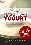 Simple Mason Jar Yogurt