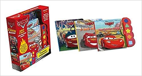 Amazon Fr Cars 3 Livres Musicaux Disney Pixar Livres
