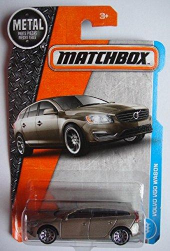 - Matchbox 2017 MBX Adventure City Volvo V60 Wagon 14/125, Tan