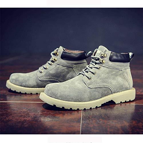 DING Trend Stiefeln in Farbe Herren Stiefel größe den Schuhe A ...