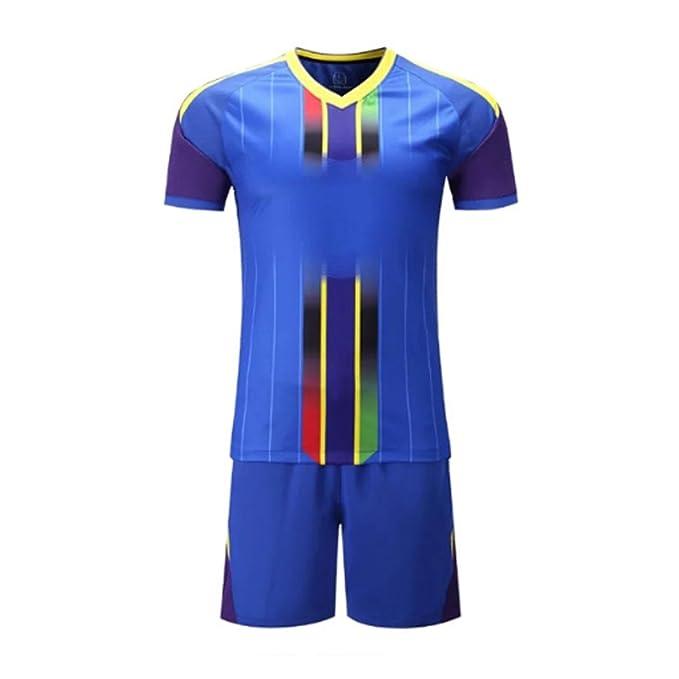 e71e784df Huicai Men Football Jerseys Team Sports kit Soccer Jersey Sets Uniforms  Shirts Shorts Jersey  Amazon.co.uk  Clothing