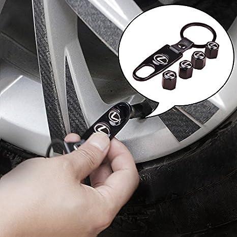llavero apreta tuercas Lexus aut011-1 Valvulas de acero inoxidable para coche