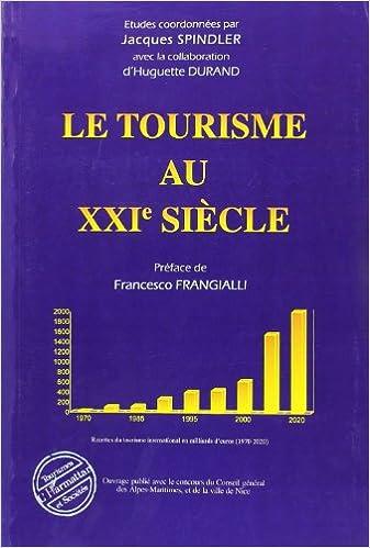 Livre Le tourisme au XXIe siècle epub pdf