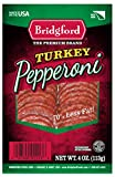 Bridgford Turkey Pepperoni, Sliced, 4 Ounce Package