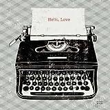 Analogique Machine à écrire vintage par Mullan, MICHAEL-Fine Art Print Disponible sur papier et toile, Papier, LARGE (24 x 24 Inches )