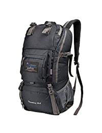 Mountaintop 35L 40L Hiking Camping Backpack Climbing Cycling Rucksack Water resistant Mountaineering Travel Bag Outdoor sports Daypacks M5811 Multi-color