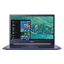 Acer SF514-52T-85A9 Notebook da 14, i7-8550U, SDD 256 MB, 8 GB, HD Graphics 620, Blu [Layout Italiano]