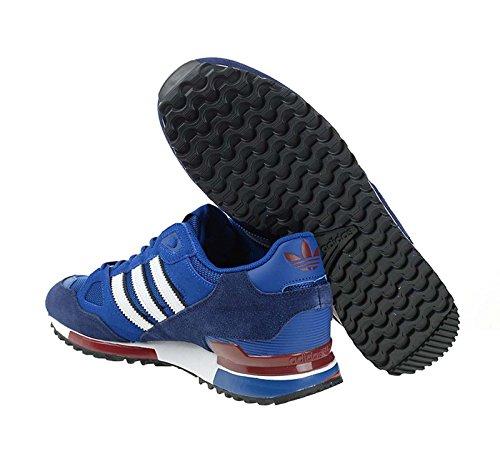 adidas Men's Zx 750 Running Shoes, Grey Blau