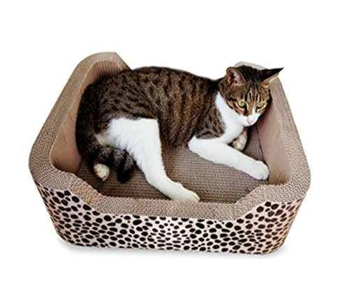 Animals Favorite Deluxe Cat Scratcher Corrugated (Lounge Cheetah)