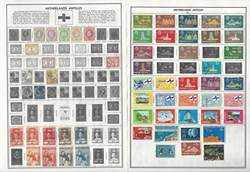 Netherlands Colonies Collection 1873-1987 on 16 Harris Pages