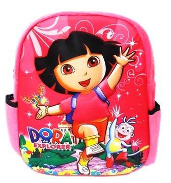 Jenik Enterprise Velvet 31 Cm Pink School Bag  Amazon.in  Bags ... e980ac7340fce