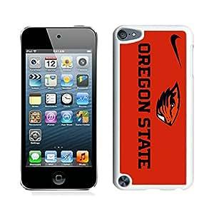 Oregon State Beavers 06 White Individual Custom iPod Touch 5 Case