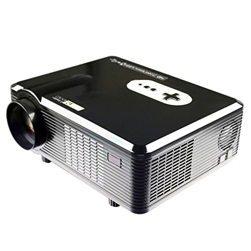 excelvan cl720 hd home cinema theater multimedia projector 3000 lumens native 720p suppoprt. Black Bedroom Furniture Sets. Home Design Ideas