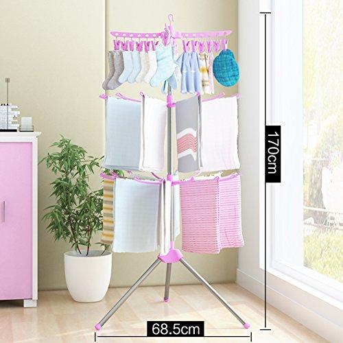 Baby clothes drying rack,Landing foldable drying rack balcon