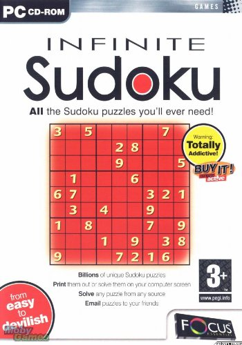 Infinite Sudoku (Windows CD) BILLIONS of new puzzles at your (Infinite Sudoku)