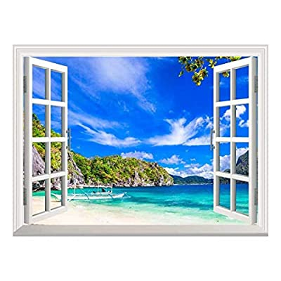 Removable Wall Sticker Wall Mural Panorama of Beautiful...