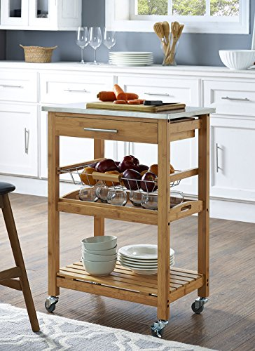 Compare Price Kitchen Prep Cart On Statementsltd Com