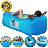 Prodigen Inflatable Lounger Chair, Air Sofa Inflatable Couch Outdoor Anti-Air Leaking Waterproof Portable Inflatable Hammock Air Couch for Pool, Floor, Camping, Beach