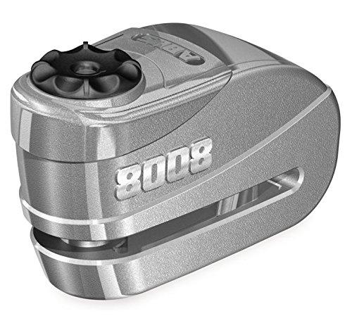 Abus Granit Detecto X-Plus 8008 Alarm Disc Lock (SILVER)