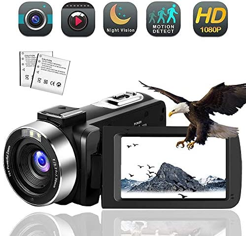 Camcorder Vlogging Camcorders Recorder Function product image